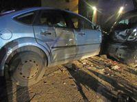 Beschädigte Fahrzeuge Bild: Polizei