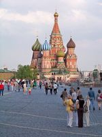 Roter Platz: Russen konsumieren trotz Krise. Bild: pixelio.de, M. Kummer