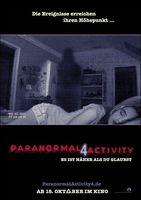 """Paranormal Activity 4"" Kinoplakat"