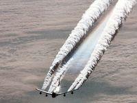 Mit Wettermanipulationsprogrammen (Chemtrails) wird es nichts mit CO2 Zielen werden und auch die Feinstaubbelastung steigt stark an... (Symbolbild)