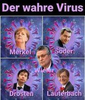Viele Menschen haben verstanden das das Virus harmloser als die Exekutive ist (Symbolbild)