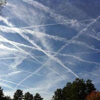 Chemtrails am 18.10.2012 über Büdingen