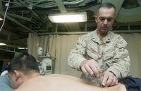 Akupunktur bei der US-Navy (Symbolbild)
