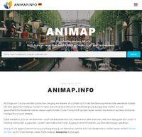 """Bild: Screenshot Internetseite: """"https://animap.info/"""" / Eigenes Werk"""