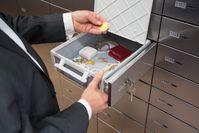 """1.279 bankenunabhängige Schließfächer und eine Zertifizierung nach Euronorm und mit VDS Anerkennung, garantieren eine Einlagerung unter höchsten Sicherheitsstandards /  Bild: """"obs/Auktionshaus Eppli/Eppli"""""""