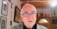 Albrecht Müller (2021) Bild: Screenshot RT DE / Eigenes Werk