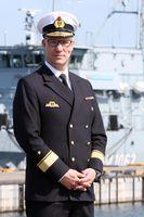 Portrait des Kdr der Einsatzflotille I in Kiel Flotillenadmiral Christian Bock, er übernimmt das Kommando am 19.04.2018 Bild: Björn Wilke