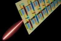 Blick ins Innere eines leistungsfähigen Terahertz-Lasers.