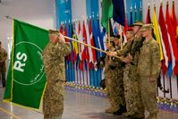 Missionswechsel-Appell ISAF→RS am 28. Dezember 2014 in Kabul