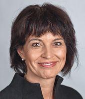 Offizielles Porträt von Bundesrätin Doris Leuthard (2011)