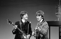 Paul McCartney und George Harrison Bild: