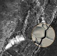 Rissbildung in Metall: 3D-Bilder geben Aufschluss.