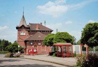 Sitz des Museums Friedland im historischen Bahnhofsgebäude