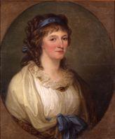 """Angelika Kauffmann, Bildnis der Louise Herzogin von Anhalt-Dessau, 1796, Öl/Leinwand, Dessau, Kulturstiftung Dessau-Wörlitz / Bild: """"obs/Kulturstiftung Dessau-Wörlitz/Heinz Fräßdorf"""""""