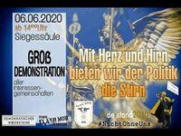 Aufruf: Großdemonstration, Berlin Siegessäule – Demo am 6. Juni 2020 ab 14 Uhr