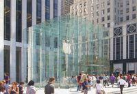 Apple Store in der New Yorker Fifth Avenue.