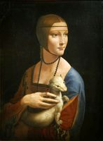 Leonardo da Vinci, Dame mit dem Hermelin (1489/90), Symbolbild