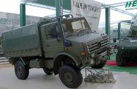 Unimog truck at IDEF in 2007.