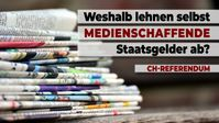 """Bild: SS Video: """"Schweizer-Referendum: Weshalb lehnen selbst Medienschaffende Staatsgelder ab?"""" (www.kla.tv/19934) / Eigenes Werk"""