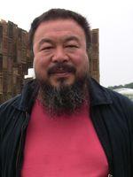Ai Weiwei 2007 vor Template auf der documenta 12.