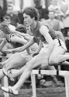 Karin Balzer bei den DDR-Meisterschaften 1963