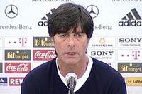 Bundestrainer Joachim Löw bei Pressekonferenz am 28. Mai. Bild: dts Nachrichtenagentur