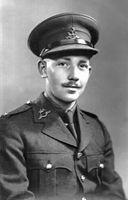 Tom Moore als Soldat, um 1940