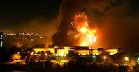 Bombardierung von Kabul. Der Krieg bis heute kostete mehr als 1 Million Menschen das Leben.