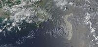 Satellitenaufnahme von Ölpest im Golf von Mexiko am 11. Mai. Bild: NASA, dts Nachrichtenagentur