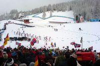 Biathlonstrecke bei den Olympischen Spielen 2006 Bild: Martin Thirolf, Euronaut / de.wikipedia.org