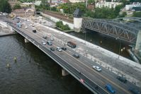 Die Elsenbrücke wird saniert.