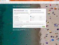 Flock 3 pfeift für Geschwindigkeit auf Firefox.