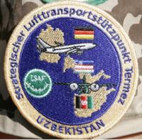 Ärmelabzeichen Lufttransportstützpunkt Termez der Luftwaffe. Bild: de.wikipedia.org