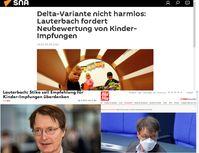 Lauterbach schürte Ängste gegenüber Kindern (Symbolbild) Bild: Eigenes Werk /SB
