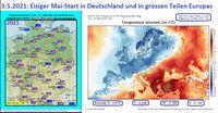 Es ist kalt in Deutschland in 2021! Sehr kaltem April folgt ein eisiger Mai 2021.