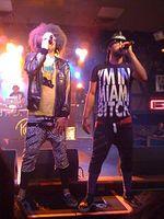 LMFAO ist ein US-amerikanisches Electro-Hop-Duo aus Los Angeles. Bild: RobCrespo / de.wikipedia.org