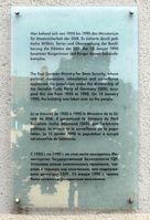 Gedenktafel für das Ministeriums für Staatssicherheit / Stasi (Symbolbild)