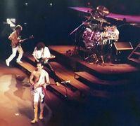 Freddie Mercury mit Queen in Frankfurt am Main, 1984