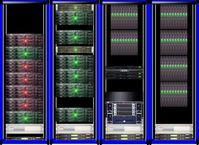 VLBI-Rechnerverbund am Max-Planck-Institut für Radioastronomie, Bonn Quelle: MPIfR/W. Alef (idw)