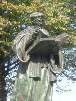 Desiderius Erasmus von Rotterdam Denkmal in Rotterdam