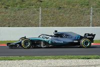 Mercedes (W09 EQ Power+ pictured) are the current Constructors' Championship leader