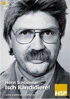 """Kinoplakat """"Horst Schlämmer - Isch kandidiere!"""" von Constantin Film"""
