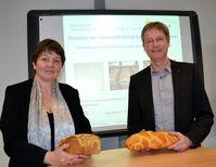 Juliane Becker, NRW-Ministerium für Verbraucherschutz, und Prof. Dr. Guido Ritter, FH Münster Quelle: FH Münster/Fachbereich Oecotrophologie – Facility Management (idw)