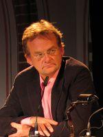 Frank Plasberg bei einer Veranstaltung im Rahmen der Lit.Cologne 2008
