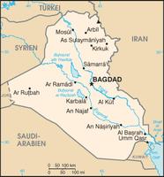 Karte von Iran / Bild: datenbank-europa.de