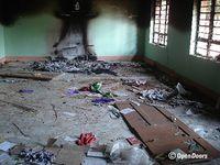 """Kandhamal 2008: Mehr als 5.600 Häuser der Christen in 600 Dörfern wurden geplündert und viele zerstört. Bild: """"obs/Open Doors Deutschland e.V."""""""