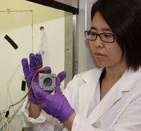 Brennstoffzelle: Gewinnt per Abwasser Energie. Bild: Oregon State University