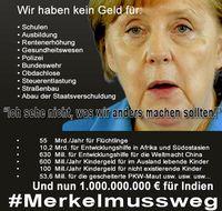 Angela Merkel steht wegen ihrer auslandsorientierten Politik in Deutschland in der Dauerkritik (Symbolbild)