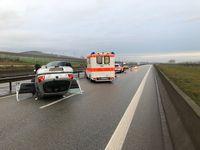 Übersicht Unfallstelle Bild: Polizei