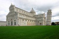 Dom und Schiefer Turm von Pisa in der Toskana